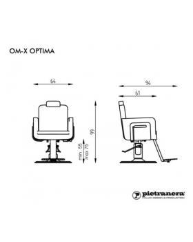 """Кресло парикмахерское """"OM-X UNISEX OPTIMA"""""""